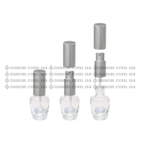 kaplya 6ml metall serebro(fl)